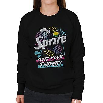 Sprite Obey Your Thirst Retro Miami Women's Sweatshirt