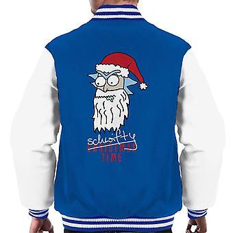 Rick og Morty Santa Rick schwifty tid mænd ' s varsity jakke