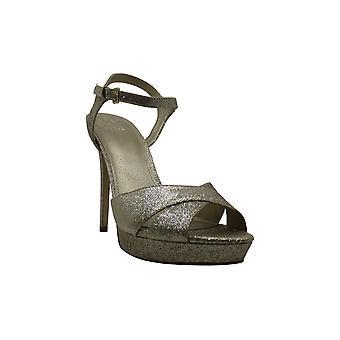 GUESS Women's Jordie Dress Sandals Gold Size 10M