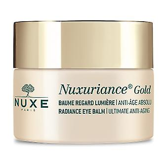 Nuxuriance Gold Balm luminous look 15 ml of cream (Floral)