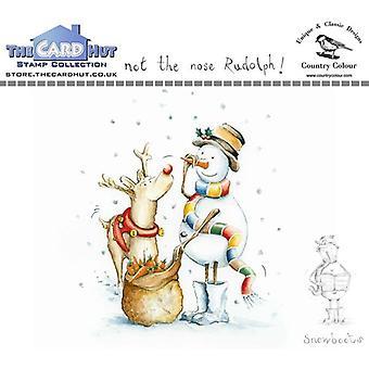 Kortet Hut Snowboots: Inte näsan Rudolph Clear Frimärken