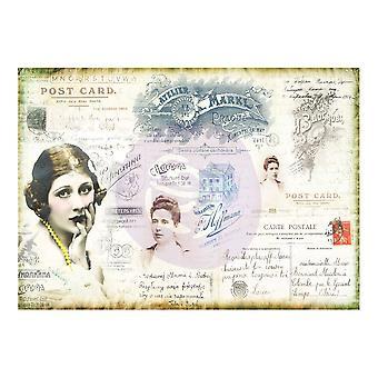 Finnabair Decorative Paper Carte Postale