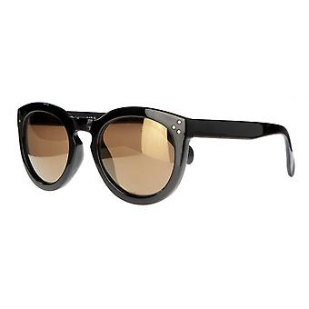 النظارات الشمسية Unisex Cat.3 أسود / بني (aml19010b)
