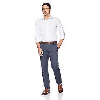 BUTTONED DOWN Men's Slim Fit Supima Cotton Spread-Collar Pattern Dress Casual...