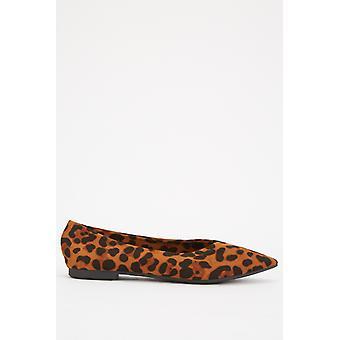 Leopard Print Pointy Wohnungen 676978