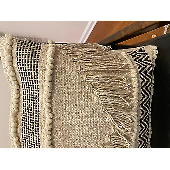 Spura Home Comfortable Zigzag Pattern Design Moroccan Style Pillow