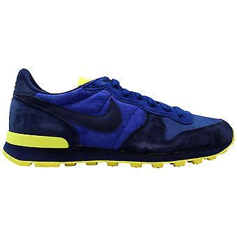 Nike Internationalist Leder Mitternacht Marine/Licht Spannung Gelb 631755-404 Männer's