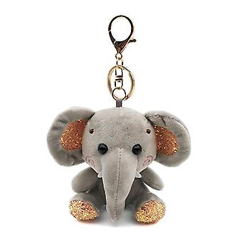Leuke Cartoon Animal Pluche Sleutelhanger Soft Toy