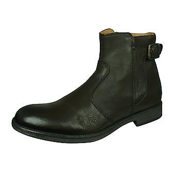 Geox U Jaylon A menns Lær ankel boots/sko-kaffe