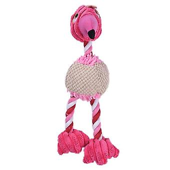 Durable Cute Squeaky Making Sound Peluche Puppy Chew - Training Teething