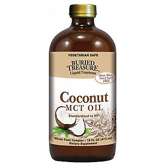 Buried Treasure Coconut Oil MCT, 16 oz