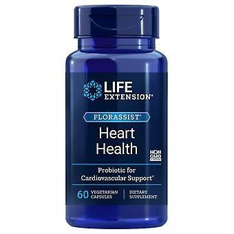 Life Extension Florassist Heart Health Probiotic, 60 Caps