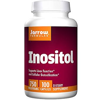 Jarrow Formulas Inositol, 750 mg, 100 Caps