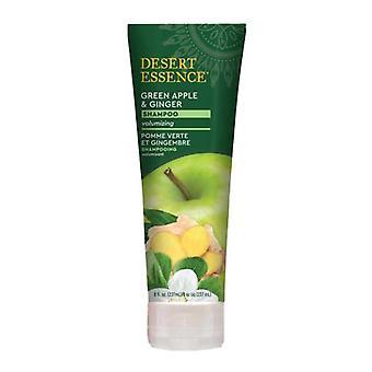 Desert Essence Groene Appel en Gember Shampoo, 8 Oz