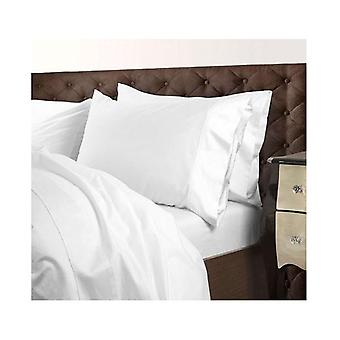 Royal Comfort  Cotton Blend Quilt Cover Set Queen White