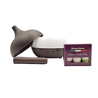 Milano Supreme Ultralyd 400Ml Aromatherapy Luftfukter Diffusor