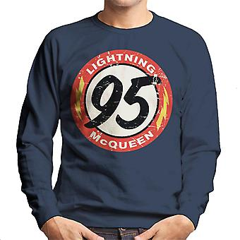 Pixar Cars Lightning McQueen 95 Men's Sweatshirt