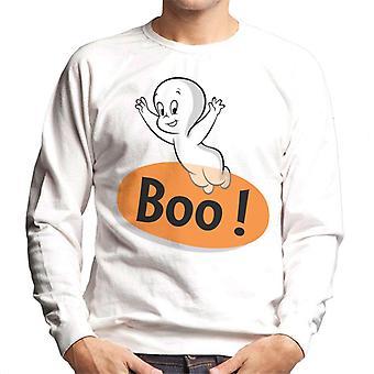 Casper The Friendly Ghost Flying Boo Men's Sweatshirt