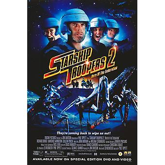 Starship Troopers 2 Movie Poster Print (27 x 40)
