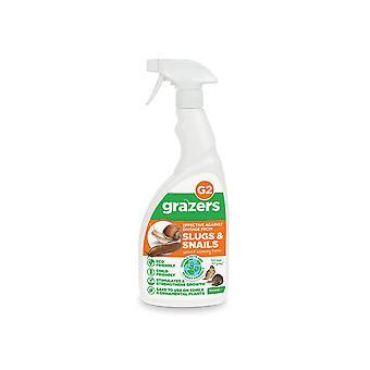 Grazers G2 Slug & Snail Repellent 750Ml Rtu