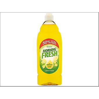 Cussons Morning Fresh Washing Up Liquid Lemon Fresh 450ml +50%