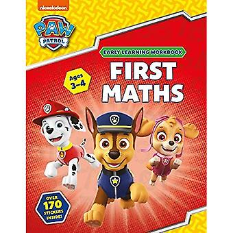 Primeira Matemática (Idades 3 a 4;a PAW Patrol Early Learning Sticker Workbook)