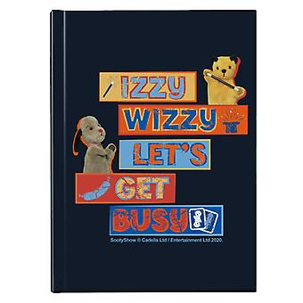 Sooty Sweep Izzy Wizzy Lets Get Busy Hardback Journal