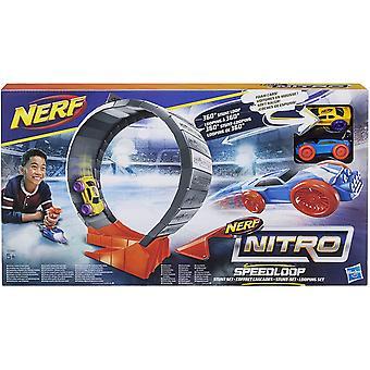 Nerf Nitro Speedloop Stunt Set 2pcs Foam Cars 1pc Looping