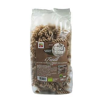 Ancient memory of organic khorasan whole wheat fusilli 500 g