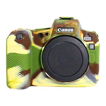 PULUZ Soft Silicone Protective Case for Canon EOS R(Camouflage)