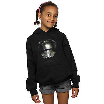 Star Wars Mädchen die mandalorianischen dunklen Helm Hoodie