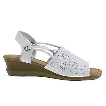 Impo GABRIA Stretch Wedge Sandal with Memory Foam