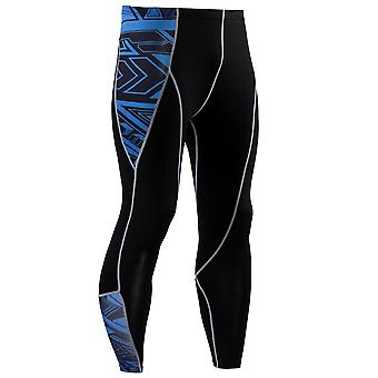 Mens Compression 3d Print Quick Dry Skinny  Leggings Tights Fitness Pants