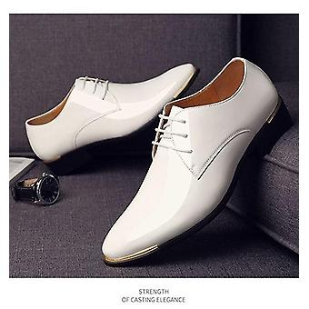 Men's Quality Patent Leather Wedding Shoes