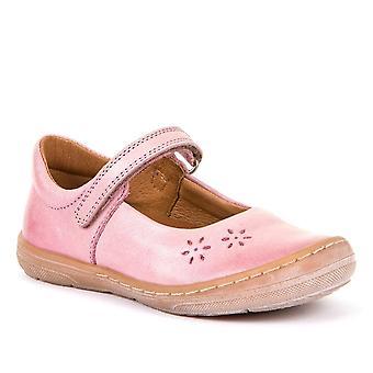 FRODDO Leather Mary Jane Shoe Baby Pink