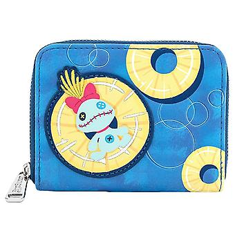 Loungefly x Disney Lilo et Stitch Pineapple Scrump Clutch Purse