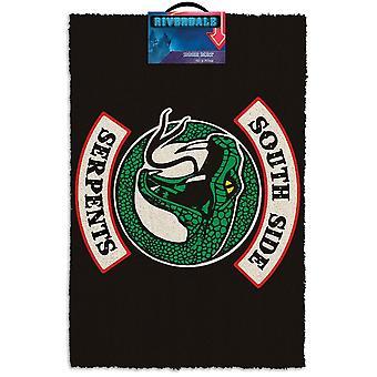 Riverdale South Side Serpents Door Mat