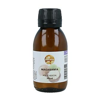 Økologisk Macadamia Vegetabilsk olie 100 ml olie