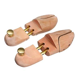 1 Pair High-quality Adjustable Wood Shoe Trees  Stretcher Shaper