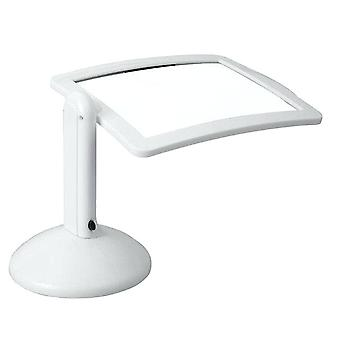 Magnifying Glass LED Light Lamp Magnifier Desk Stand Repair Read Hobby Folding