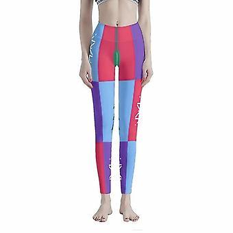 Ruma joulu villapaita kuvio naiset's workout leggingsit