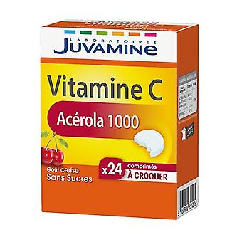 Acerola 1000, Vitamin C of Plant Origin 24 chewable tablets