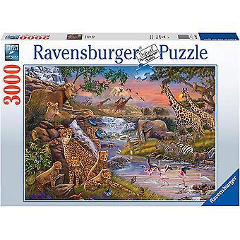Ravensburger Animal Kingdom 3000 stykke puslespill