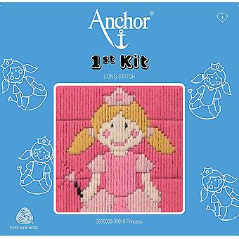 Anchor Long Stitch Kit: 1st Kit: Princess