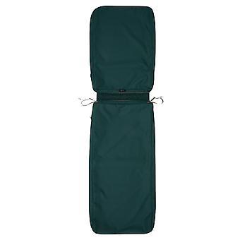 "Accesorios clásicos Ravenna Patio Chaise Lounge Cojín Cojín Slip Cover - Cojín exterior duradero, Mallard Green, 72""L X 21""W X 3""Thick"