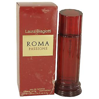 Roma Passione Eau De Toilette Spray door Laura Biagiotti 3.4 oz Eau De Toilette Spray