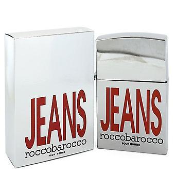 Roccobarocco Silver Jeans Eau De Toilette Spray (nuova confezione) Di Roccobarocco 2.5 oz Eau De Toilette Spray