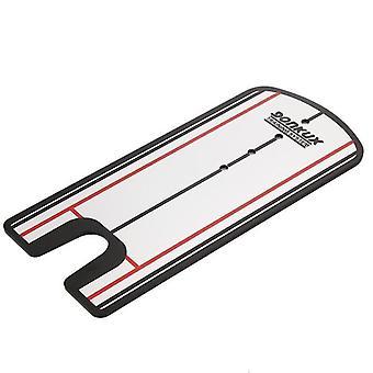 ポータブルゴルフトレーナーパッティングミラーアライメント