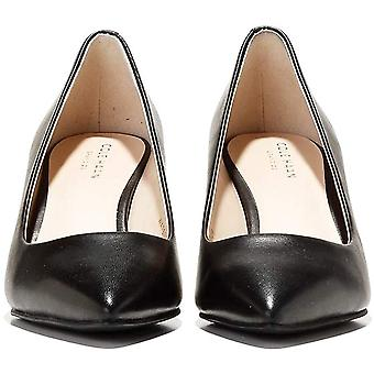 Cole Haan Womens Waterproof Marta Leather Pointed Toe Classic Pumps