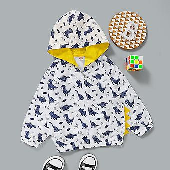 Giacche per vestiti per bambini, cappotto con cerniera con cappuccio inverno caldo